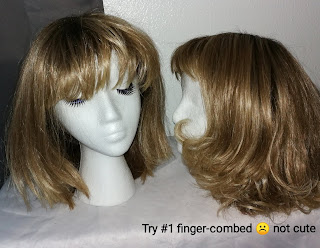 Review Versafiber hair tutorial Shannon by Paula Young wig A1136