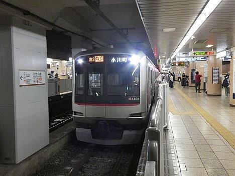 東京メトロ副都心線 東武東上線直通 急行 小川町行き3 東急5050系(31S代走)