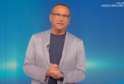 Carlo Conti domenica in