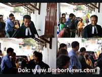 Pisah Sambut Pendeta HKBP Ressort Kayutinggi dari Pdt Haposan Sianturi Kepada Pdt Rudi Saut Mampe Pardede, M.Th