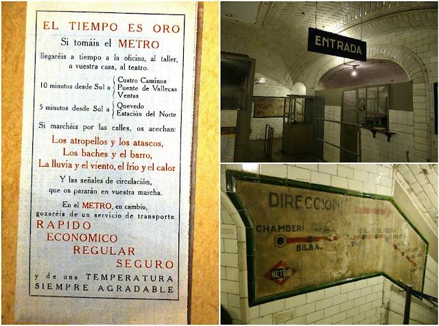 Andén 0, antigua estación de Chamberí