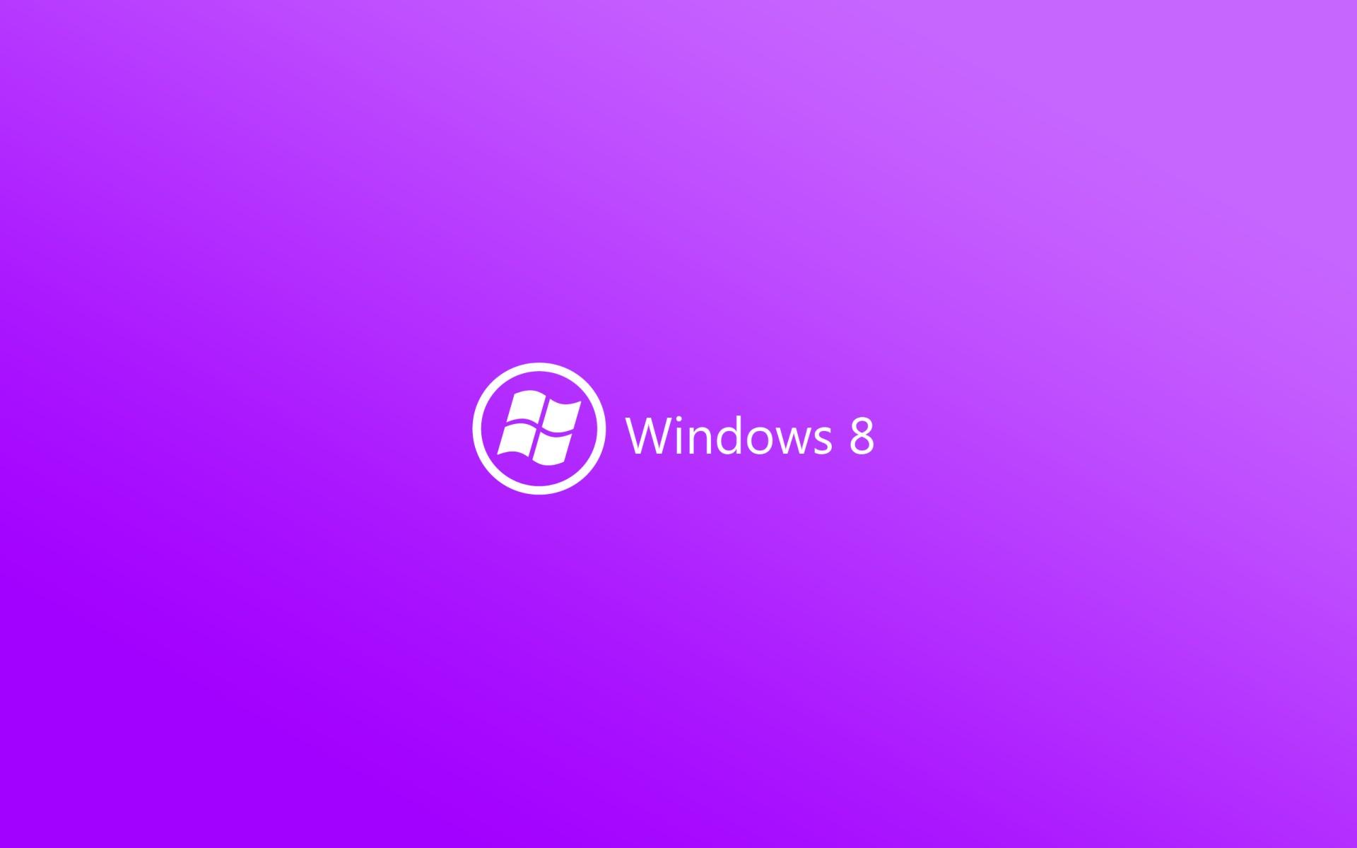 Windows 8 Official Wallpaper Purple Windows 8 Wallpaper: L...