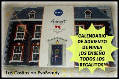 Calendario Adviento NIVEA ¡Os enseño todos los regalitos!