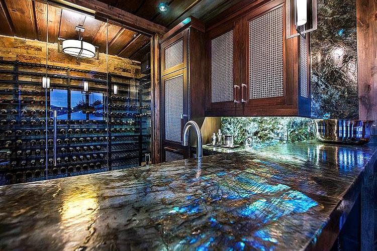 Labradorite Gemstone Countertops Kitchen Bathroom