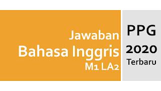 Jawaban PPG Bahasa Inggris Formatif M1 LA2 Profesional - Announcement