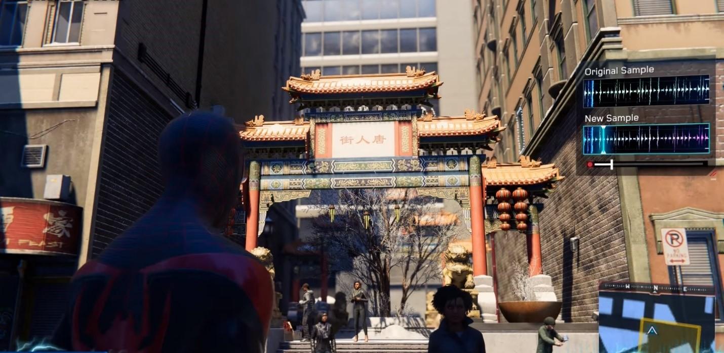Sound Sample # 8: Chinatown