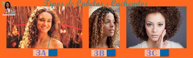 Tipos de cabelo 3A 3B 3C
