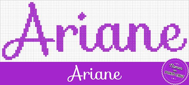 Nome Ariane em Ponto Cruz
