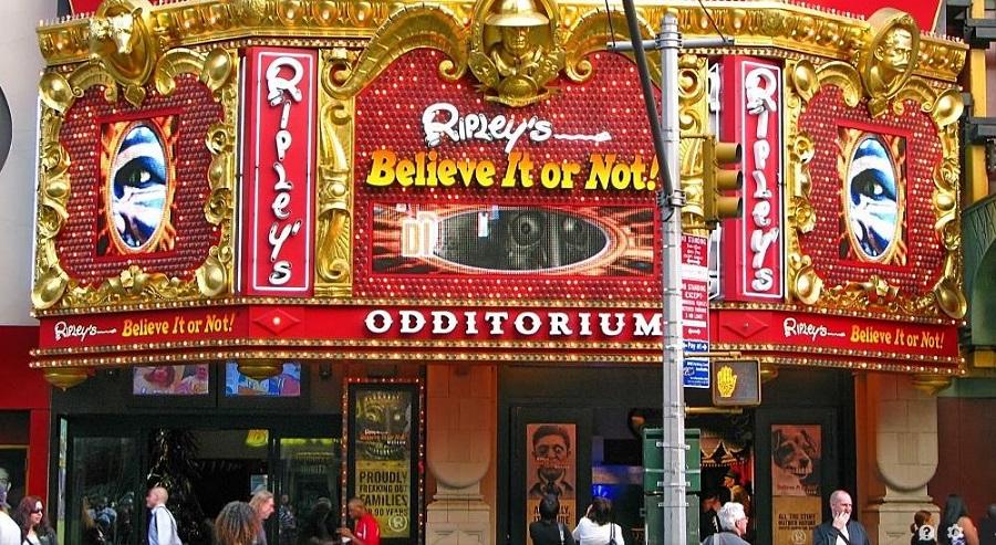 Museu Ripleys Believe It Or Not Em Nova York
