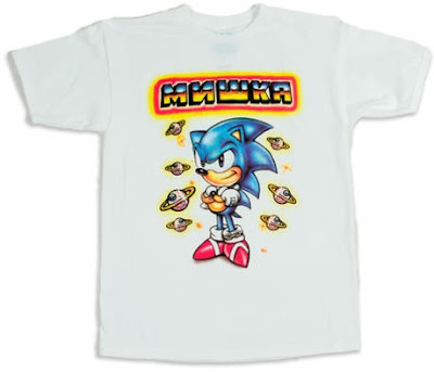 MISHKA x SEGA Sonic the Hedgehog 25th Anniversary T-Shirt by L'amour Supreme