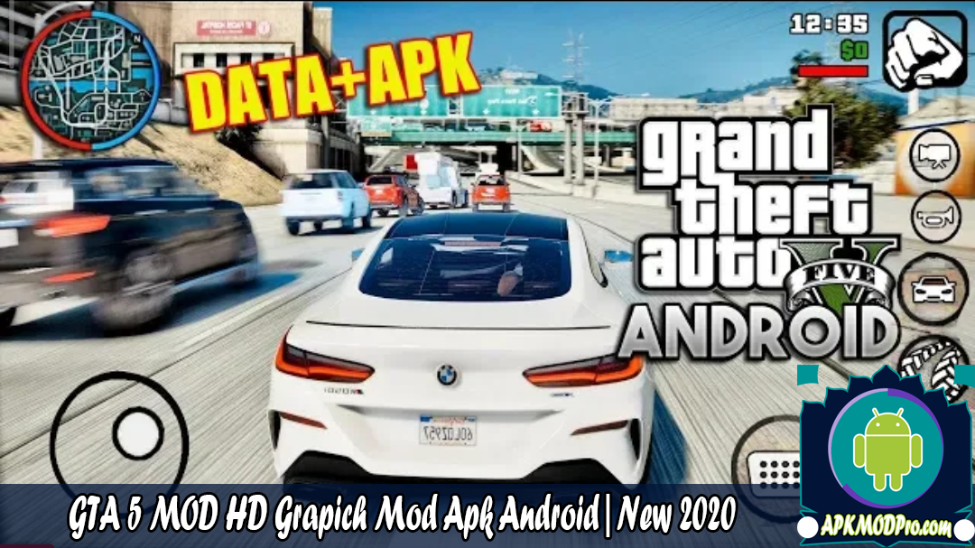 Download GTA 5 Mod HD Grapich MOD APK Android | New 2020