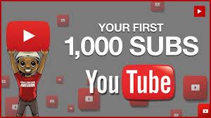 Akhirnya capai 1,000 Subscribers! selepas 9 tahun join youtube. Terima kasih semua.