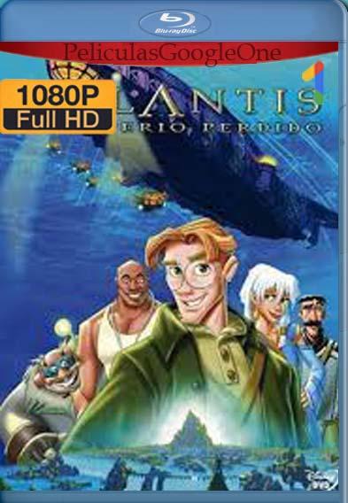 Atlantis el imperio perdido (2001) [1080p BRrip] [Latino-Inglés] [LaPipiotaHD]