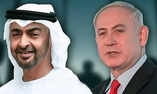 الإمارات العربية المتحدة، إسرائيل، الرئيس الأمريكي، دونالد ترامب، رئيس الوزراء الإسرائيلي، بنيامين نتنياهو، محمد بن زايد آل نهيان، الشرق الأوسط، الضفة الغربية، حربوشة نيوز