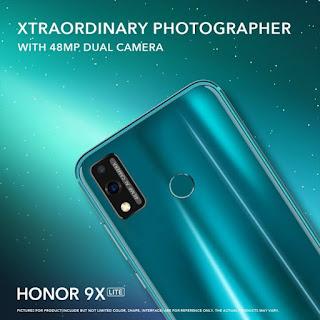 Promosi Honor 9X Lite muncul secara online