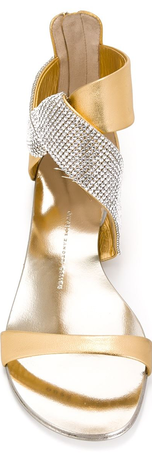 GIUSEPPE ZANOTTI DESIGN Rear Zip Sandals