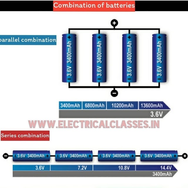 series and parallel batteries circuit