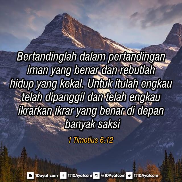 1 Timotius 6:12