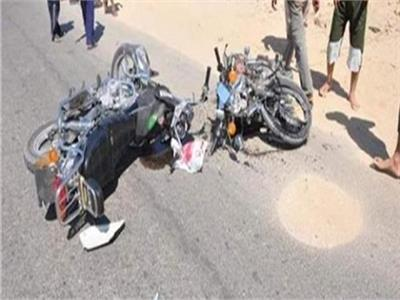 مصرع عامل وإصابة اثنين في حادث تصادم فى سوهاج