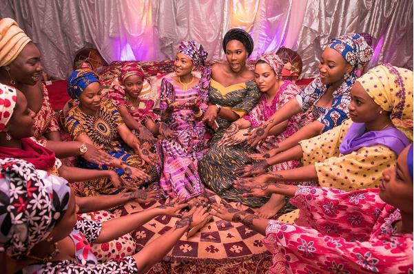 Adorable Photos Of Zahra Buhari At Her Henna Pre-wedding Ceremony