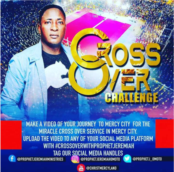 Nigerian Celebrities, Akpororo, Francis Duru, Gordons, Endorse Crossover Night with Senior Prophet Jeremiah Fufeyin at Mercy City Warri.