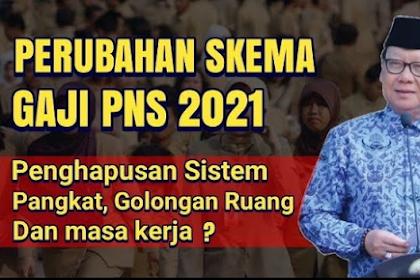 UPDATE! Perubahan Skema Gaji PNS Dikabarkan Berlaku 1 Januari 2021, Ini Kata BKN