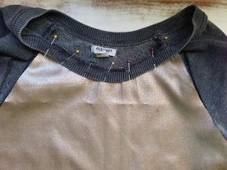 Bluzu Yapay Deri ile Kaplama