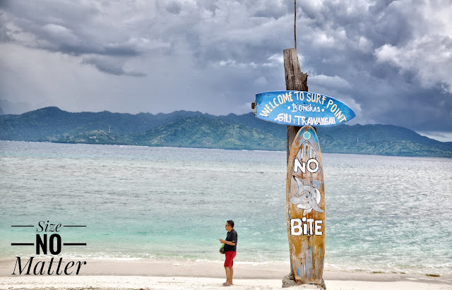 Surfer Of Gili Trawangan