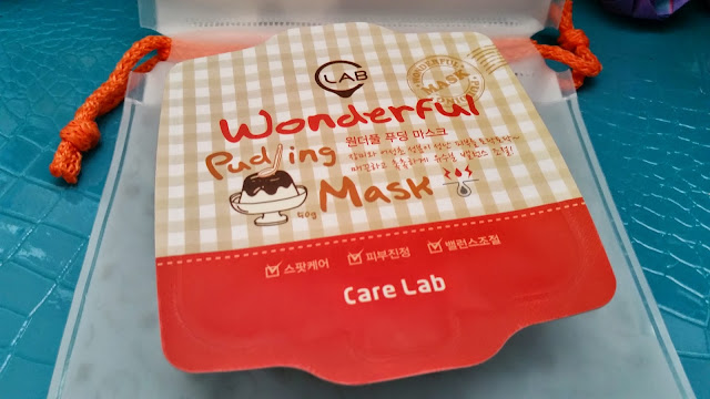 Wonderful Pudding Mask packaging