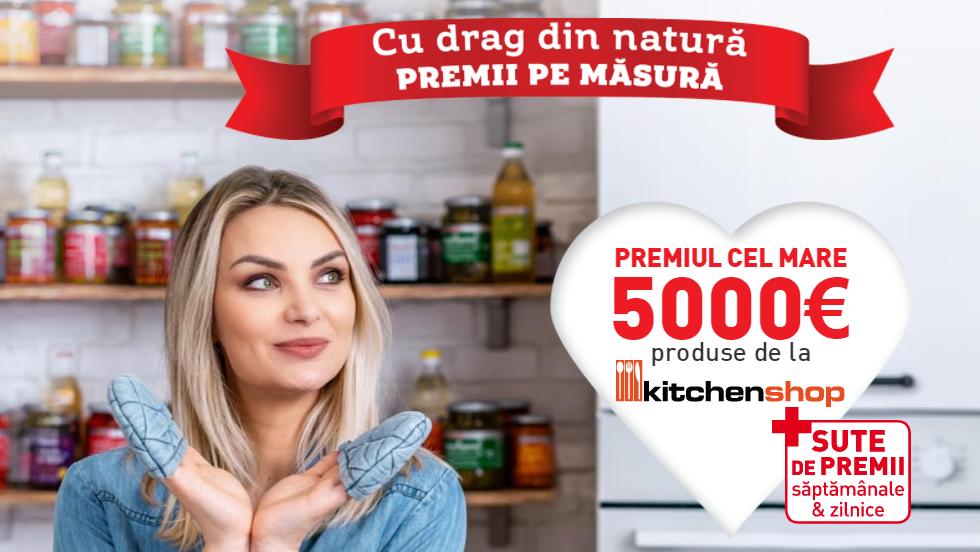 Concurs Raureni - Castiga accesorii de bucatarie in valoare de 5000 de euro de la KitchenShop - 2021 - castiga.net - promotie