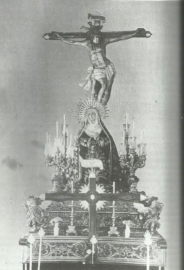 Cuando la Virgen de las Aguas se arrodilló ante el Cristo de la Expiración