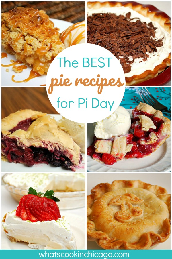 best pie recipes for Pi Day