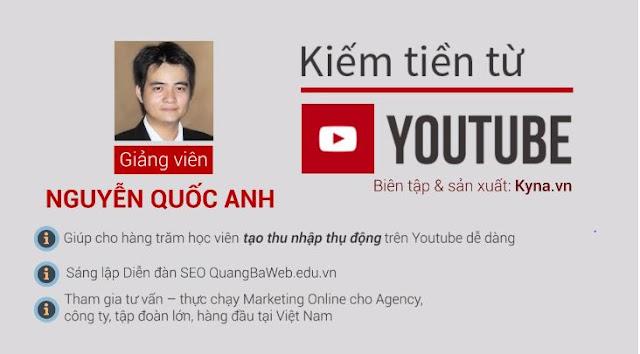 Khóa học kiếm tiền từ Youtube từ A-Z