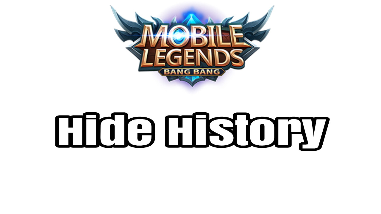 How To Hide History Ml