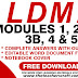 LDM2 MODULES 1,2,3A,3B,4 & 5