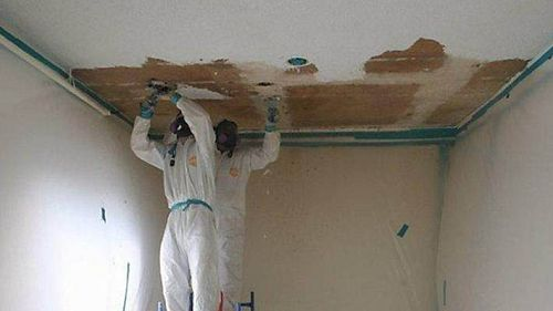 Asbestos Removal Cost Ceiling