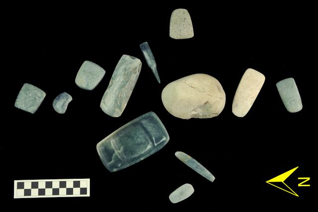 Jade stones used in Mayan rituals discovered in Guatemala