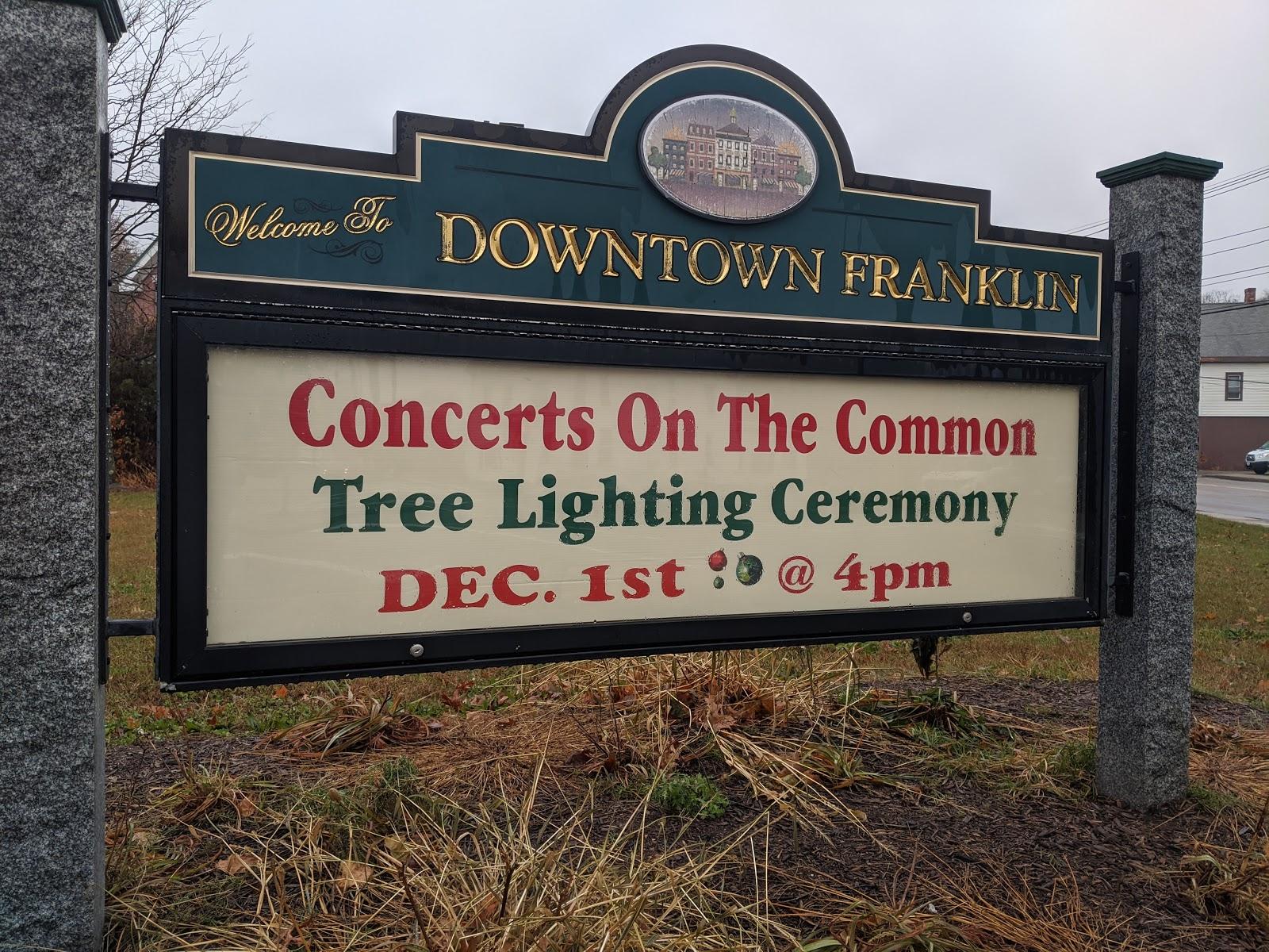 Franklin Matters Reminder Christmas