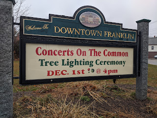 December 1, Concerts on the Common