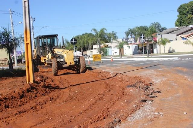 Senador Canedo: Intervenção no Trânsito da Vila Bonsucesso