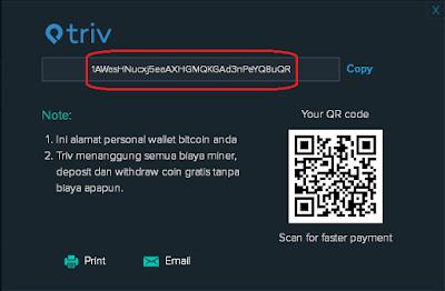 Triv, tempat, jual, beli, bitcoin, indonesia