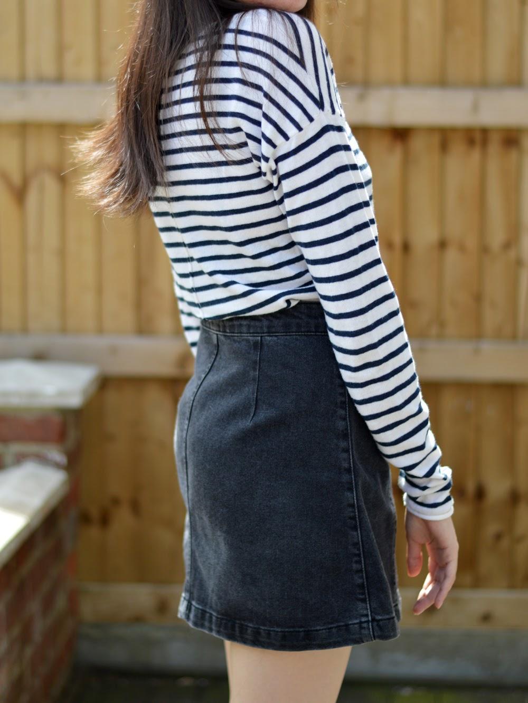 Topshop Moto Skirt