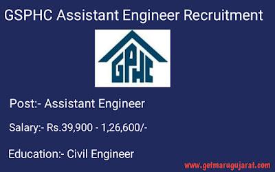 GSPHC Civil Engineer Recruitment