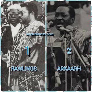 Jerry John Rawlings and Kow Arkaah