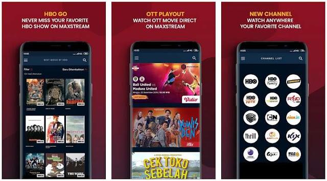 Aplikasi Nonton Film Bioskop Indonesia & Mancanegara