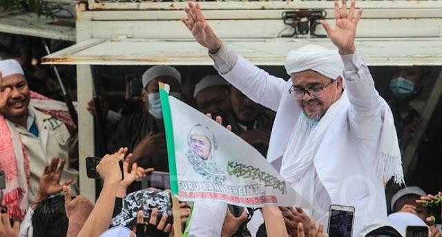 Tak Diizinkan Pemkab, FPI Cianjur Tetap Gelar Tablig Akbar Habib Rizieq