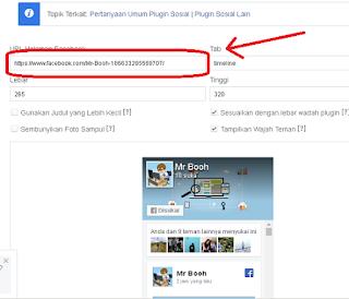 Cara Memasang Fanspage Facebook Pada Blog