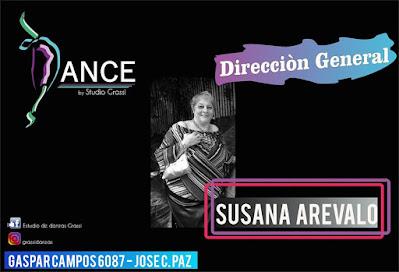 Instituto Grassi, sinònimo de danza. Aviso%2BSusana%2BArevalo