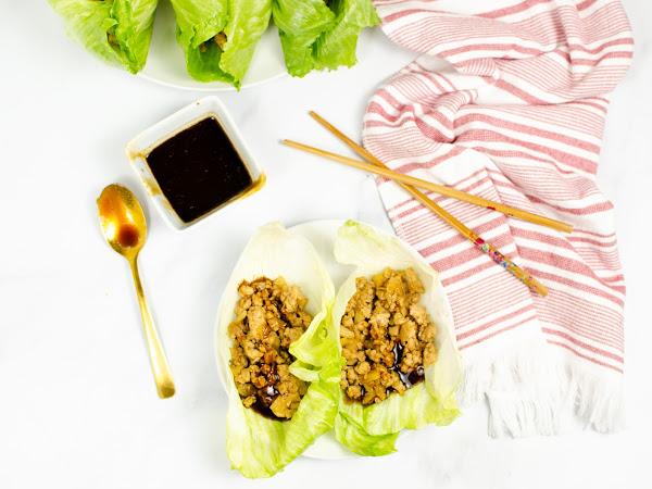 Instant Pot: Chicken Lettuce Wraps