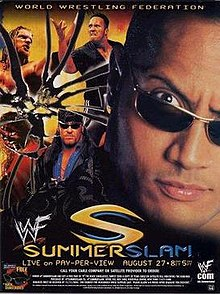 WWE / WWF Summerslam 2000 - Event poster